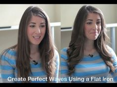I know the secret!!  I share with you 5 tricks and a step-by-step tutorial on creating gorgeous flat iron waves.  Youll find slow motion demos and VERY clear explanations on how to achieve the perfect waves with a flat iron.  Its easy!   My other channel: http://www.youtube.com/cleanmyspace  Many of you have asked me how I do these waves, and ...