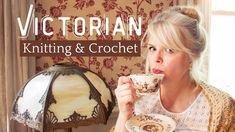 Victorian Era Knitting & Crochet Facts - How Many Do You Know? - YouTube Love Crochet, Knit Crochet, Knitting Designs, Knitting Patterns, Vintage Crochet Patterns, Slip Stitch, Yarn Crafts, Victorian Era, Did You Know