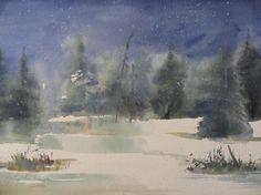 Agata Kwiatkowska, watercolor, 40x30 cm
