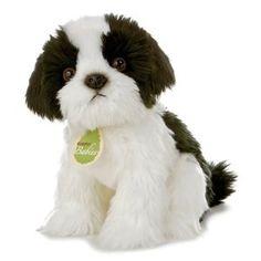 "Aurora Plush Shanie Dog Aurora Baby - 10"" $12.99. My baby girl would LOVE this dog."