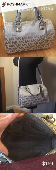 🎉DEAL OF THE DAY $155🎉🎀NEW🎀MK Lg Gray Grayson 🎀NEW🎀 MK LARGE GRAY GRAYSON. THIS PRICE WILL GO UP TO $179 after today. Comes with crossbody strap ❌no trading or holding🎀PRICE FIRM🎀NO OFFERS. OR BUNDLE DISCOUNT🎀 Michael Kors Bags