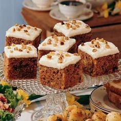 Old-Fashioned Carrot Cake - very moist and tasty. Might cut back a bit on the cinnamon for personal preference.