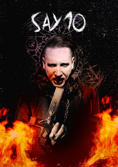 Marilyn Manson Say10 album cover