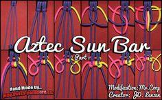 Aztec sun bar part 1 paracord