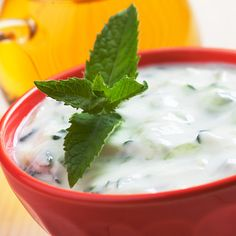 Tzatziki | Kwestia Smaku Tzatziki, Vegetable Salad, Cheeseburger Chowder, Mashed Potatoes, Nom Nom, Dips, Grilling, Salads, Pudding