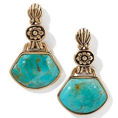 Studio Barse Turquoise Bronze Earrings