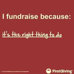 #fundraising #nonprofits #firstgiving