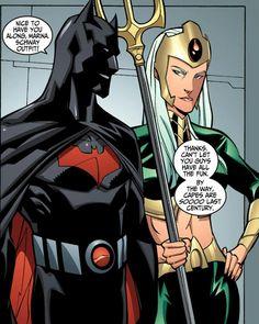 Someone finally got a cape. [Justice League Beyond Marvel Dc Comics, Dc Comics Art, Anime Comics, Batman Comic Art, I Am Batman, Batman Begins, Batman Robin, Tim Drake, Batman Beyond Terry