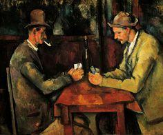 2. THE CARD PLAYERS De Paul Cézanne - US$ 274 milhões (cerca de R$ 773,5 milhões)