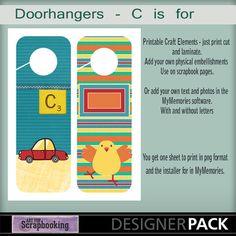 C is for Doorhangers
