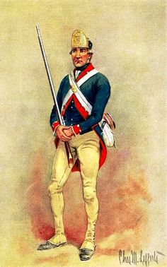 Butler's Rangers, 1777.