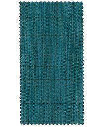 Textil Raked Linen Teal från Kelly Wearstler
