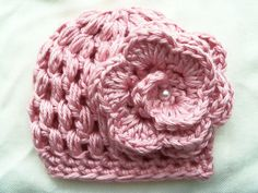 Newborn girl hat