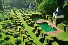 jardins du manoir d'Eyrignac, Aquitaine