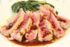 Stranded in Cleveland: Sesame Ahi Tuna | Recipe | Teriyaki-Citrus Sauce