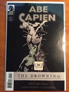 Abe Sapien The Drowning #2 - March 2008 - Dark Horse