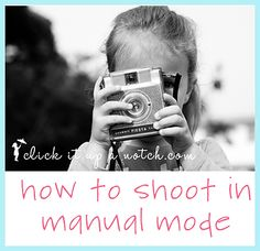 I taught myself how to shoot in manual, but this is a great tutorial if you have no clue what you are doing! She gives great examples and explains things very clearly. Good read.