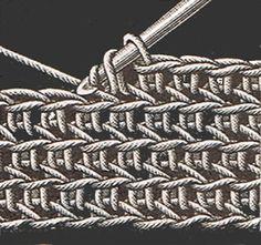 Heirloom Crochet - Vintage Crochet Stitches - DMC ✿⊱╮Teresa Restegui http://www.pinterest.com/teretegui/✿⊱╮