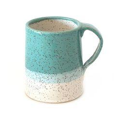 Blue Speckled Mug