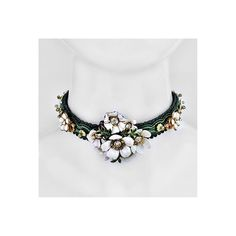 One-of-a-kind embroidered choker. New #Chokers available at JAREDJAMIN.com Photography Collage, Digital Photography, Models Needed, Digital Collage, Semi Precious Gemstones, Gemstone Beads, 18k Gold, Jewelry Collection, Personal Style