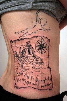 Awesome Peter Pan tattoo