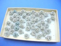 handmade light grey rose rings - http://www.wholesalesarong.com/blog/handmade-light-grey-rose-rings/