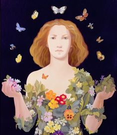Art of Lizzie Riches (born in London in 1950) Many images here!