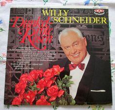 Willy Schneider - Dunkel-rote Rosen - Karussell 2430 010 Germany - 1967