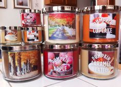 Love!! Bath and Body Works Candles  I have ordered at least 30 in the last couple months!  Have to stock up!
