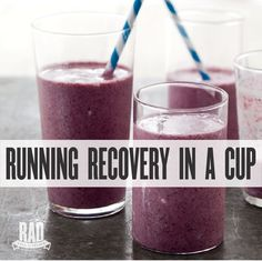 After working out you gotta show your body some TLC, it worked hard for you so treat it right. This blueberry smoothie is perfect for post workout of any...