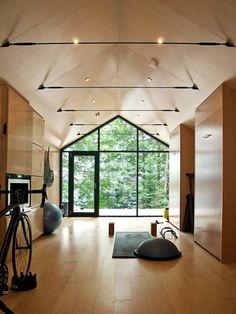 Bigwin Island by Bunkie BLDG 608 Workshop and Design 5 gym