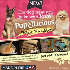#Wheat #Free #Dog #Treats Made in the #USA