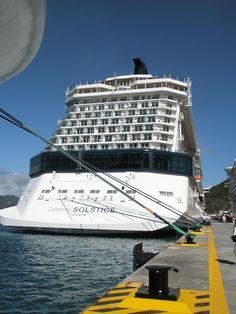 Celebrity Solstice in St. Maarten