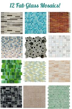 We're adding a wall of glass blue tile to our hall bathroom in the next few weeks as part of an ongoing remodel and so I've got glass tile on my mind. It's been popular for a decade now for its cool texture and watery reflective qualities. There's something so stunning about a bathroom covered [...]