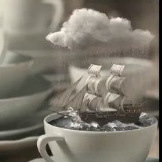 Volkswagen Bus Discover Storm in a teacup Jinguang Beautiful Love Pictures, Beautiful Gif, Storm In A Teacup, Wow Video, Cool Illusions, Lovely Girl Image, Good Morning Gif, Beautiful Fantasy Art, Futuristic Art
