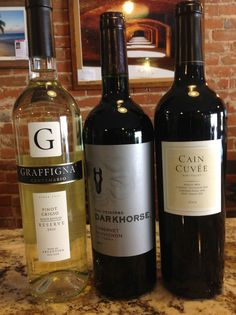 Special Friday Tasting!    Cain Cuvee - One of my all time favorites!  Plus, Graffigna Reserve Pinot Grigio & The Original Dark Horse Cabernet Sauvignon.  It's going to be a great night at Chateau La Vin!