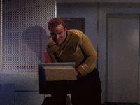 via GIPHY Star Trek Gif, Gifs, Reading, Reading Books, Presents