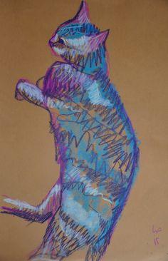 pastel on paper 2012