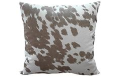 Accent Pillow-Reiter Hide Taupe 22X22