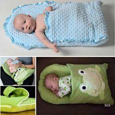 DIY Pillowcase Sleeping Bag for Baby