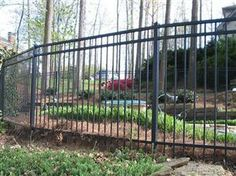 Steel fence #fence