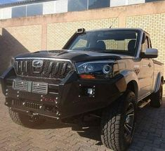 This Mahindra Scorpio Pick Up Truck Is Pure Muscle Scorpio