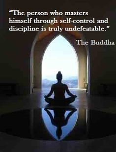 """""""Practicing Self Discipline"""" by co-author Michelle Cruz Rosado #quote #inspiration #buddha"""