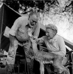 Hemingway with who?
