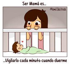 17 ilustraciones sobre la realidad de ser mamá   Blog de BabyCenter