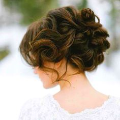 #homecoming #hair #prom #winterfest #curly #updo #pretty #want #brown #boho #bun #messy #cute #hairstyle #idea