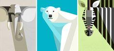 Great animal illustration by Josh Brill