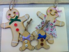 Gingerbread family. - The Supermums Craft Fair