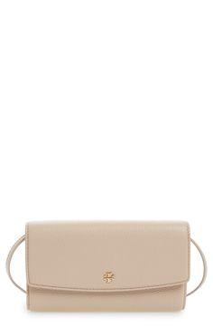 New Tory Burch Leather Wallet Crossbody Bag fashion online. [$195]?@shop.seehandbags<<