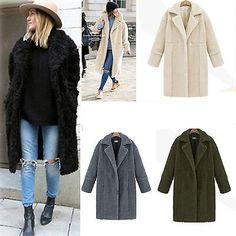 2016 Women's Warm Winter Fashion Hooded Parka Coat Overcoat Long Jacket Outwear    eBay